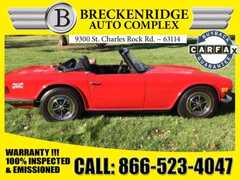 1969 Triumph TR6 for sale in Overland, MO