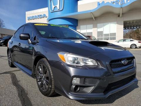 2016 Subaru WRX for sale in Morganton, NC