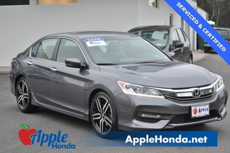 Nice 2016 Honda Accord Sport 4dr Sedan CVT   Riverhead NY