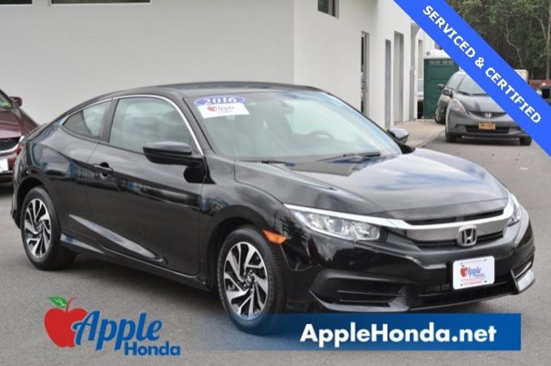 2016 Honda Civic LX 2dr Coupe CVT   Riverhead NY