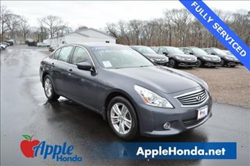 2011 Infiniti G25 Sedan for sale in Riverhead, NY