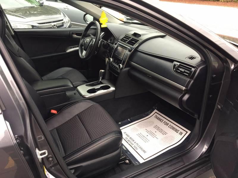 2012 Toyota Camry SE 4dr Sedan - Salem NH