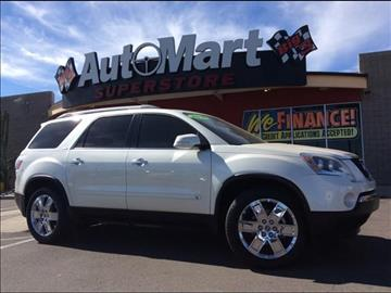 2010 GMC Acadia for sale in Chandler, AZ