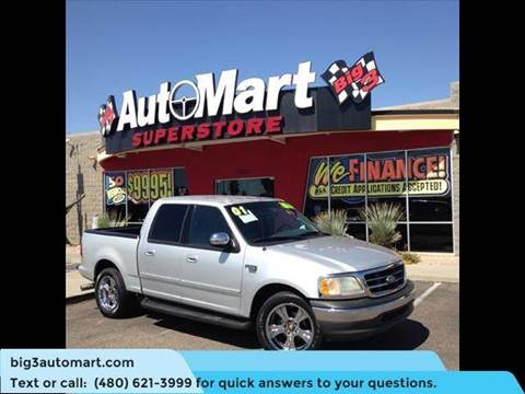 2001 Ford F-150 for sale in Chandler, AZ