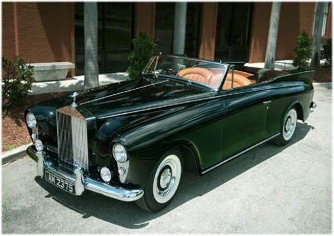 1958 Rolls-Royce Silver Cloud 1