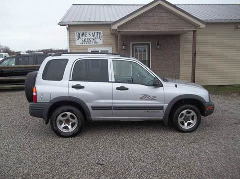 2003 Chevrolet Tracker for sale in Grelton, OH