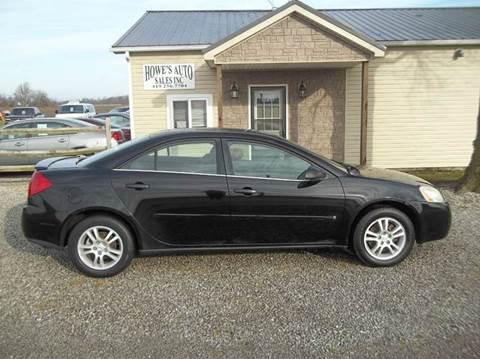 2006 Pontiac G6 for sale in Grelton, OH