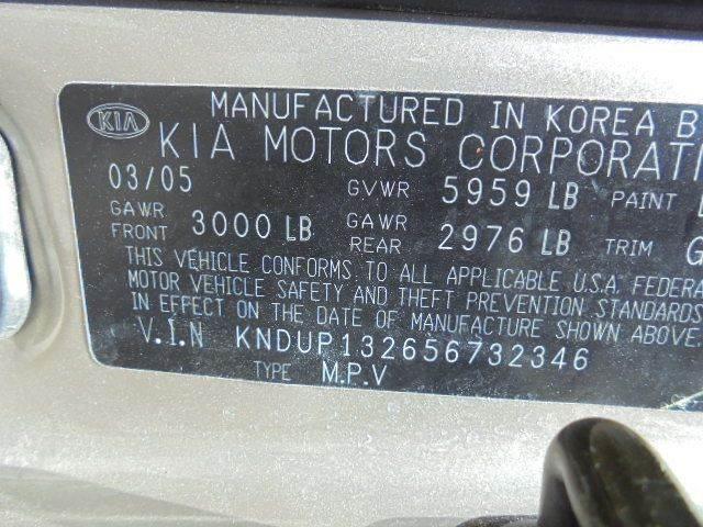 2005 Kia Sedona 4dr LX Mini-Van - Olathe KS