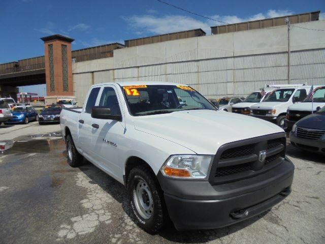 2012 RAM Ram Pickup 1500 ST 4x4 4dr Quad Cab 6.3 ft. SB Pickup - Olathe KS