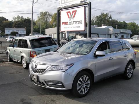 2016 Acura MDX for sale in Stratford, CT
