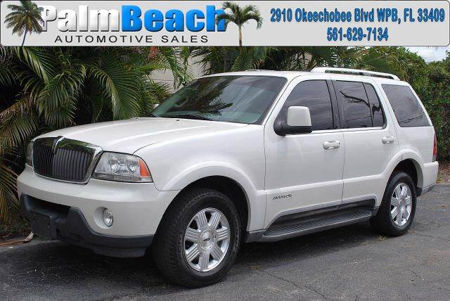 2003 Lincoln Aviator for sale in West Palm Beach FL