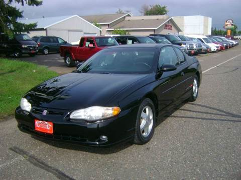 2001 Chevrolet Monte Carlo for sale in Turtle Lake, WI