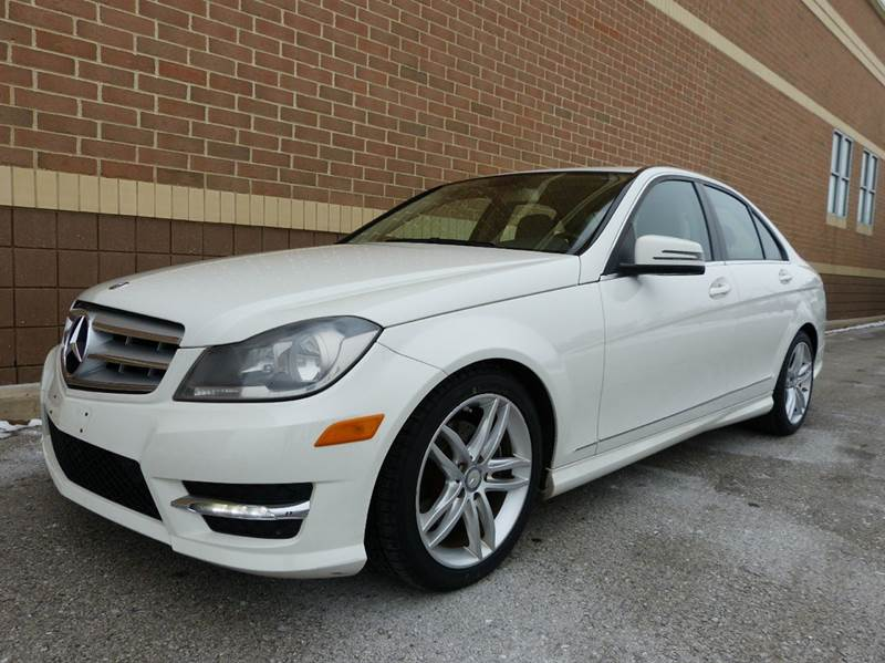 2012 mercedes benz c class awd c300 sport 4matic 4dr sedan