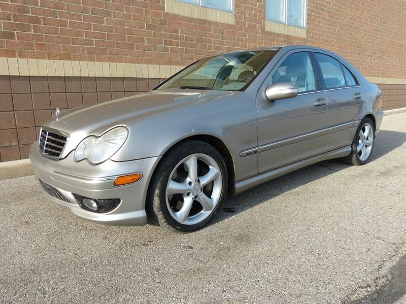 2005 mercedes benz c class c230 kompressor 4dr sedan in new haven mi macomb automotive group. Black Bedroom Furniture Sets. Home Design Ideas