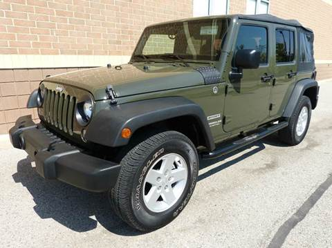 2015 Jeep Wrangler Unlimited for sale in New Haven, MI