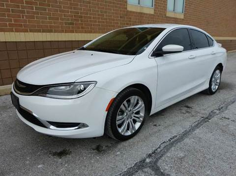 2015 Chrysler 200 for sale in New Haven, MI