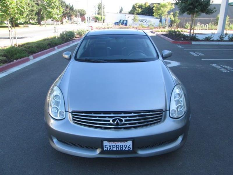 2006 Infiniti G35 2dr Coupe Wautomatic In Hayward Ca Blue Star Motors