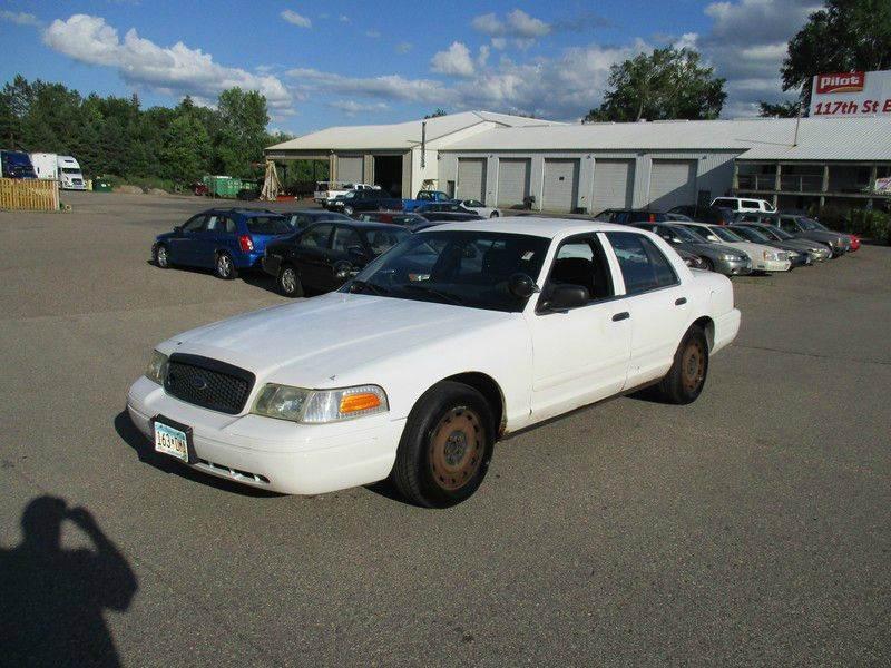 2003 Ford Crown Victoria Police Interceptor Axle