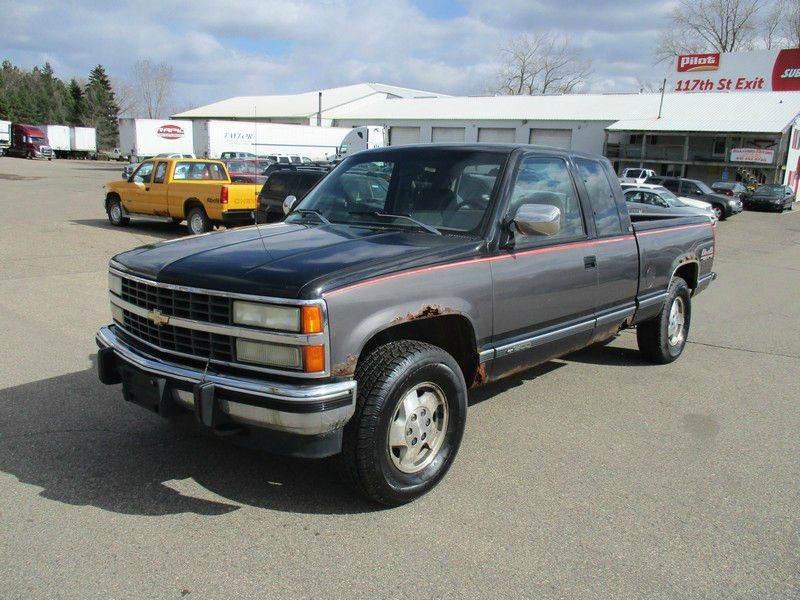 1993 Chevrolet C K 1500 Series 2dr K1500 Silverado 4wd
