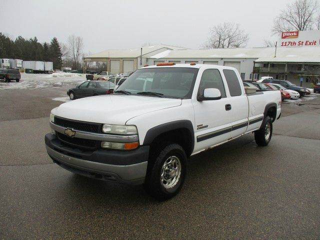 2002 Chevrolet Silverado 2500HD 4dr Extended Cab LS 4WD LB - Inver Grove Heights MN