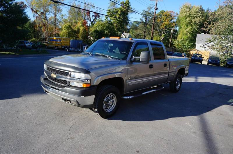 2002 chevrolet silverado 2500hd ls 4dr crew cab 4wd sb in highland ny auto by joseph inc. Black Bedroom Furniture Sets. Home Design Ideas