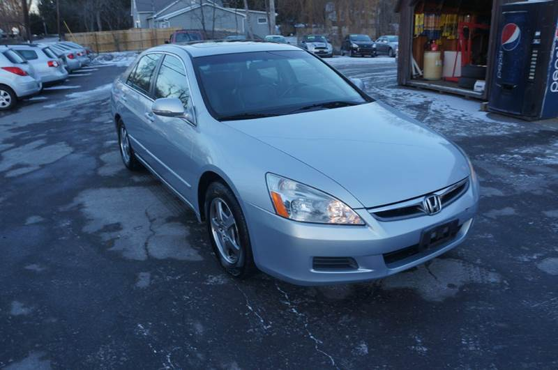 2006 honda accord hybrid 4dr sedan in highland ny auto. Black Bedroom Furniture Sets. Home Design Ideas