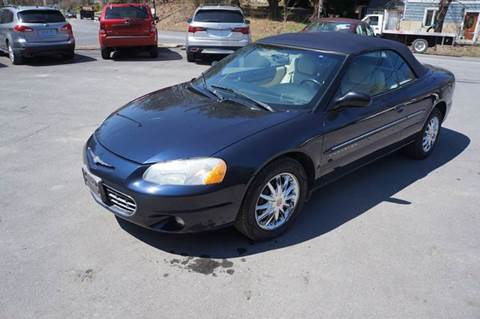2001 Chrysler Sebring for sale in Milton, NY