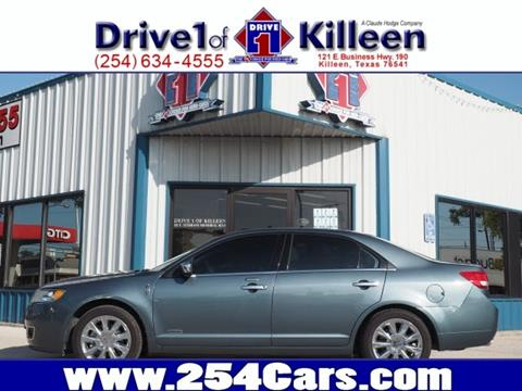 2012 Lincoln MKZ Hybrid for sale in Killeen, TX