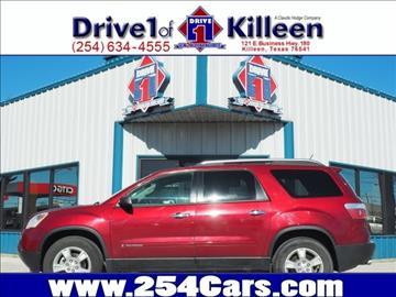 2008 GMC Acadia for sale in Killeen, TX