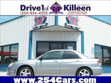 2007 Subaru Impreza for sale in Killeen, TX