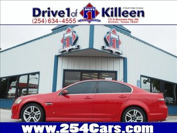 2008 Pontiac G8 for sale in Killeen, TX