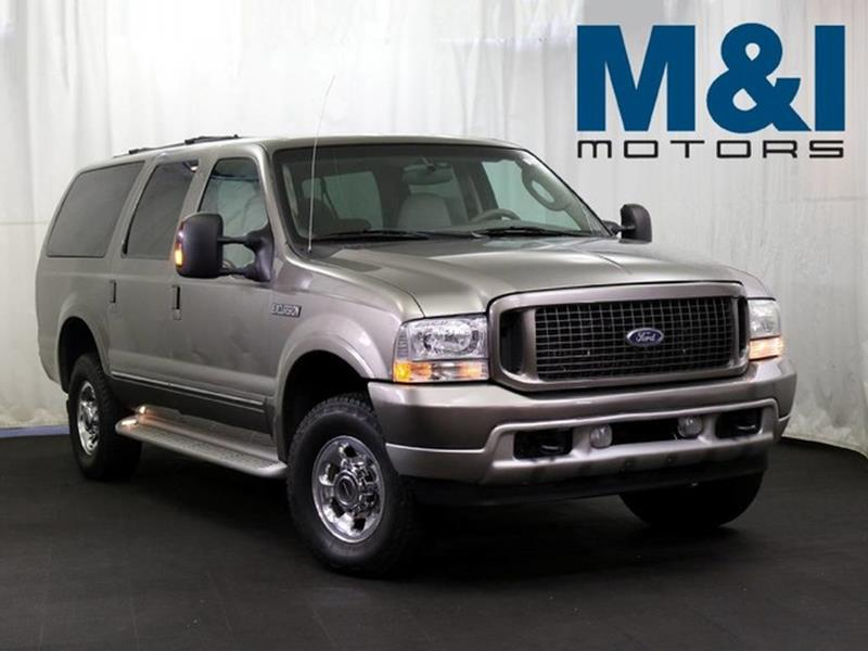 2004 ford excursion for sale for M i motors highland park il 60035
