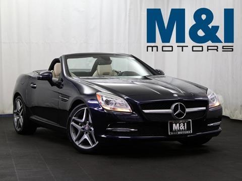 2015 Mercedes-Benz SLK for sale in Highland Park, IL