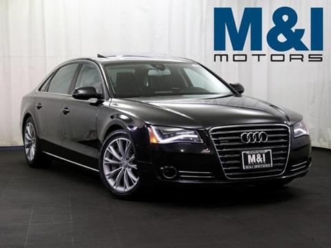 2012 Audi A8 L for sale in Highland Park, IL