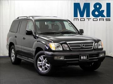 2004 lexus lx 470 for sale georgia for M i motors highland park il 60035