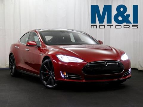 2014 Tesla Model S for sale in Highland Park, IL