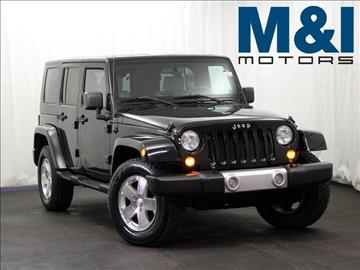 2008 Jeep Wrangler Unlimited for sale in Highland Park, IL