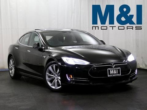 2015 Tesla Model S for sale in Highland Park, IL