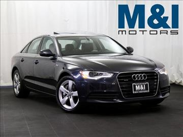 2012 audi a6 for sale for M i motors highland park il 60035