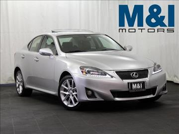 2012 Lexus IS 250 for sale in Highland Park, IL