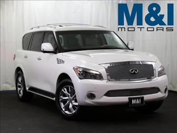 2012 Infiniti QX56 for sale in Highland Park, IL