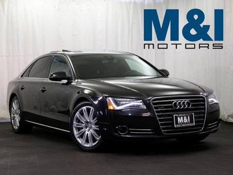 2011 audi a8 for sale carsforsale 2011 audi a8 l for sale in highland park il sciox Image collections
