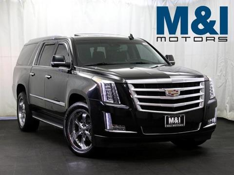 2015 Cadillac Escalade ESV for sale in Highland Park, IL