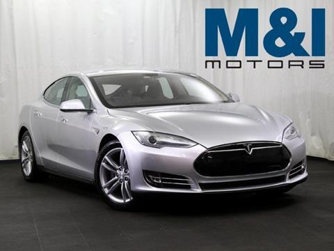 2013 Tesla Model S for sale in Highland Park, IL