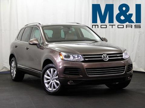 2012 Volkswagen Touareg for sale in Highland Park, IL