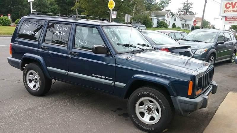 2000 Jeep Cherokee 4dr Sport 4WD SUV - Vernon Rockville CT
