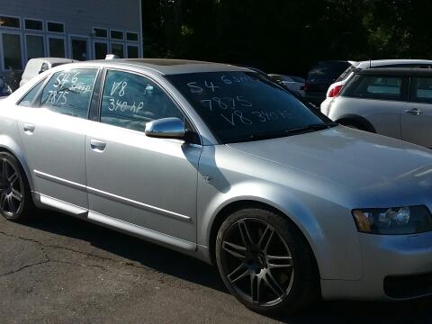 2004 Audi S4 for sale in Vernon Rockville, CT