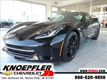 2017 Chevrolet Corvette for sale in Sioux City, IA