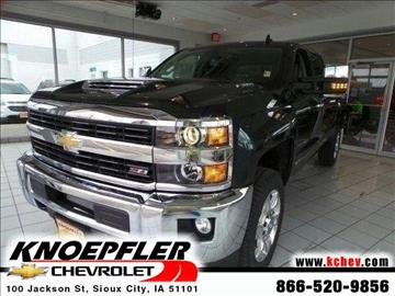 2017 Chevrolet Silverado 2500HD for sale in Sioux City, IA