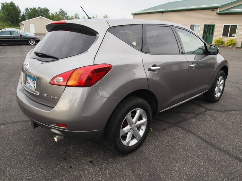 2009 Nissan Murano Awd Sl 4dr Suv In Duluth Mn Anderson